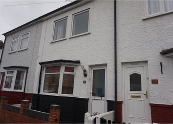 Thumbnail 2 bed terraced house for sale in Seymour Road, Gravesend