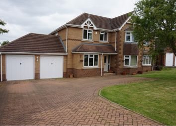 Thumbnail 5 bed detached house for sale in Clay Hill Road, Sleaford