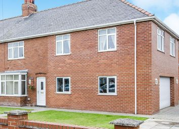 Thumbnail 5 bed semi-detached house for sale in High Street, Eastrington, Goole