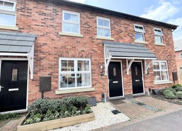 Thumbnail 2 bed terraced house for sale in Clay Court, Measham, Swadlincote
