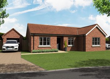 Thumbnail 3 bedroom detached bungalow for sale in School Road, Earsham, Bungay