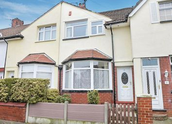 Thumbnail 2 bedroom terraced house for sale in Merton Road, Prestwich, Manchester
