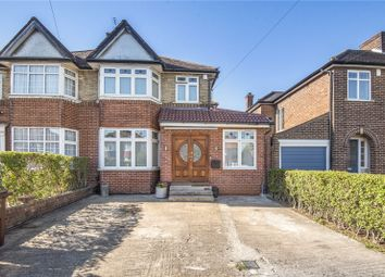 Thumbnail 4 bed semi-detached house for sale in Wemborough Road, Stanmore, Middlesex