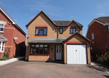Thumbnail 4 bed detached house for sale in Gainsborough Avenue, Hinckley
