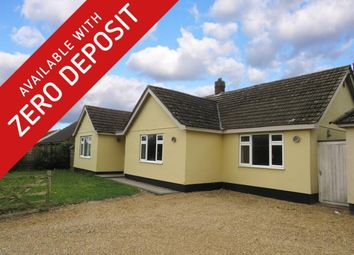 Thumbnail 3 bed detached bungalow to rent in Chequers Lane, Great Ellingham, Attleborough