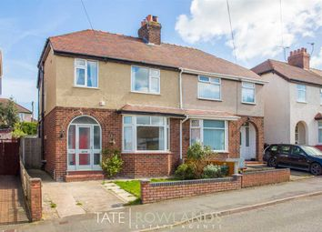Thumbnail 3 bed semi-detached house for sale in Third Avenue, Flint