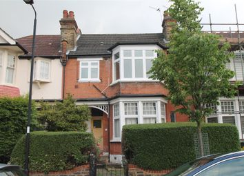 Thumbnail 3 bed flat to rent in Harlech Road, London