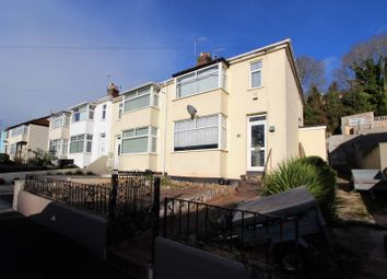 Thumbnail 3 bed end terrace house for sale in Sherwell Valley Road, Torquay