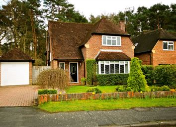 Thumbnail 3 bed detached house to rent in Longdown, Church Crookham, Fleet