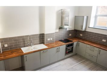 Thumbnail 2 bedroom flat for sale in 23 Crawthorne Street, Peterborough