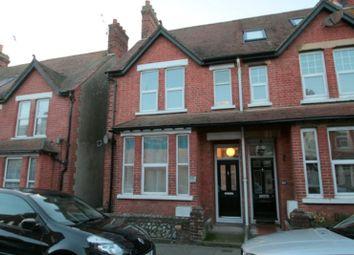 Thumbnail 3 bed end terrace house to rent in Queen Street, Littlehampton