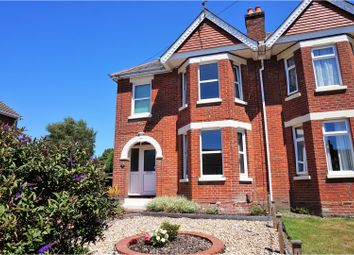 Thumbnail 3 bed semi-detached house for sale in New Road, Netley