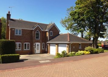 Thumbnail 4 bed detached house for sale in Redacre Close, Dutton, Warrington, Cheshire