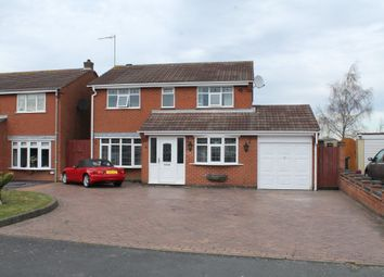 Thumbnail 4 bed detached house to rent in Cadogan Road, Dosthill, Tamworth