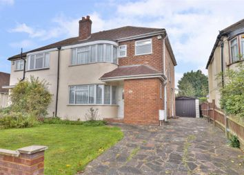Thumbnail 3 bed semi-detached house for sale in Bushey Road, Ickenham