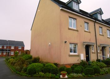 Thumbnail 4 bed end terrace house to rent in Heol Waunhir, Carway, Carmarthenshire