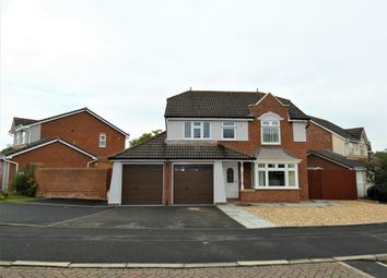 Thumbnail 4 bed detached house for sale in Walkmill Crescent, Carlisle