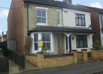 Thumbnail 3 bedroom semi-detached house to rent in Midland Road, West Town, Peterborough