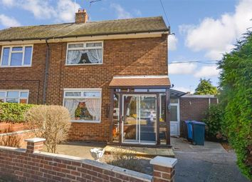 Thumbnail 2 bed semi-detached house for sale in Brompton Close, Bricknell Avenue, Hull