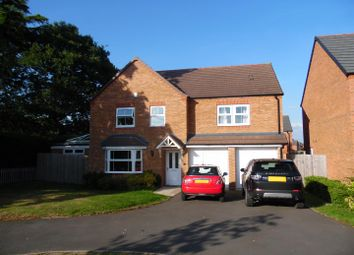 Thumbnail 5 bed detached house for sale in Oakley Meadow, Wem, Shrewsbury