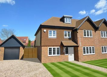 Thumbnail 5 bedroom semi-detached house for sale in Peacock Cottages, Wokingham, Berkshire