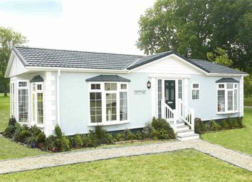 Thumbnail Mobile/park home for sale in Main Road, West Winch, King's Lynn
