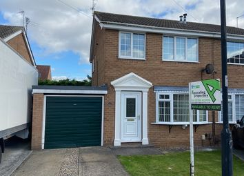 Thumbnail 3 bed semi-detached house to rent in Bowland Way, Rawcliffe, York