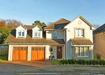Thumbnail 4 bed detached house to rent in Woodlands Crescent, Pitfodels