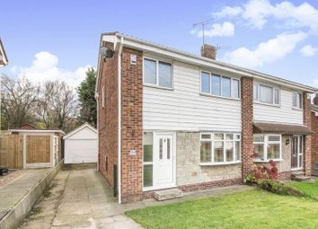 Thumbnail 3 bed semi-detached house for sale in Ormsby Close, Balby, Doncaster