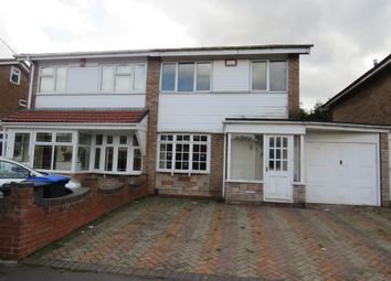 Thumbnail 3 bed semi-detached house for sale in Walcot Drive, Great Barr, Birmingham