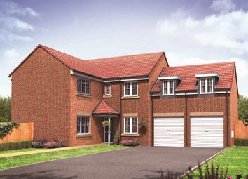 "Thumbnail 5 bed detached house for sale in ""The Oxford"" at Lon Yr Ardd, Coity, Bridgend"