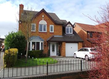 Thumbnail 4 bed detached house for sale in Lady Acre, Bamber Bridge, Preston