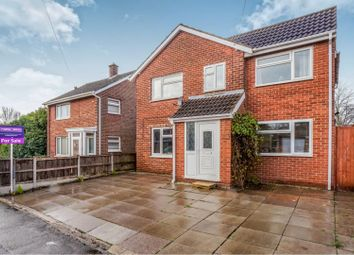 Thumbnail 4 bed detached house for sale in Riverside Drive, Branston, Burton-On-Trent
