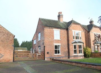 Thumbnail 4 bed detached house to rent in Main Street, Branston, Burton-On-Trent