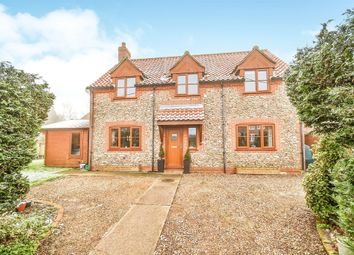 Thumbnail 4 bed detached house for sale in The Street, Hindolveston, Dereham