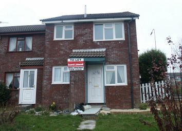 Thumbnail 1 bed terraced house to rent in Hazeldene Avenue, Brackla, Bridgend.