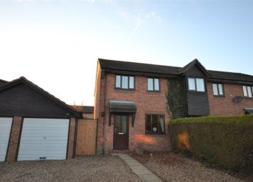 Thumbnail 3 bedroom semi-detached house for sale in Poringland, Norwich