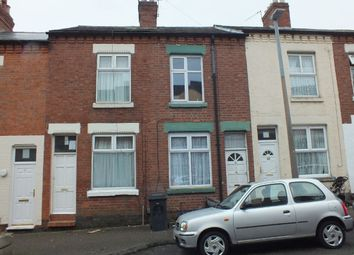 Thumbnail 2 bed terraced house to rent in Wilne Street, Off St Peters Road, Leicester