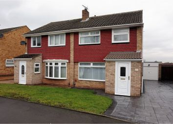 Thumbnail 3 bed semi-detached house for sale in Ravensdale, Acklam, Middlesbrough
