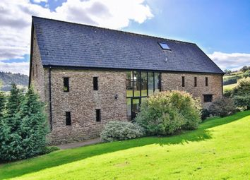 Thumbnail 5 bed barn conversion for sale in Ganarew, Monmouth