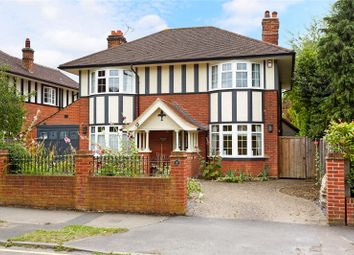 Thumbnail 5 bed detached house for sale in Oakfield Road, Ashtead, Surrey