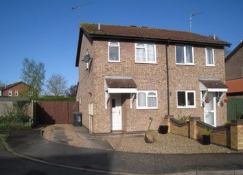 Thumbnail 2 bed semi-detached house to rent in Sitch Close, Broughton Astley, Leicester