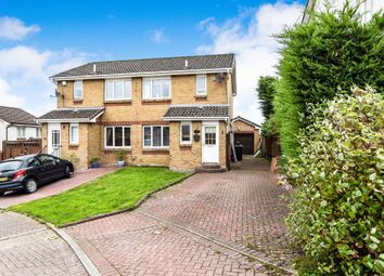Thumbnail 3 bed semi-detached house for sale in Pendle Court, Gartcosh, Glasgow