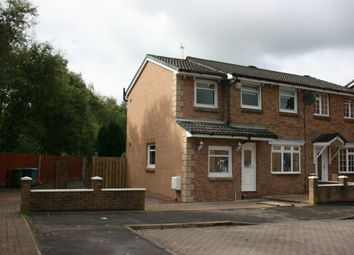 Thumbnail 4 bed end terrace house for sale in High Burnside Avenue, Coatbridge