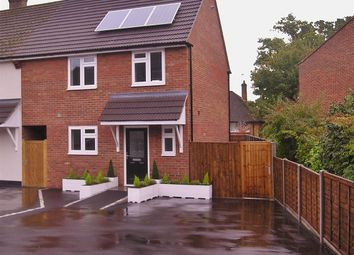 Thumbnail 3 bed end terrace house for sale in Hillside Close, Knaphill, Woking