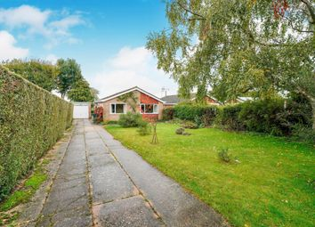 Thumbnail 2 bed detached bungalow for sale in St Andrews Close, Holme Hale, Thetford