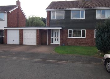 Thumbnail 3 bed semi-detached house to rent in Cowhey Close, Chester