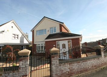 Thumbnail 4 bed detached house for sale in Carlbury Avenue, Acklam, Middlesbrough