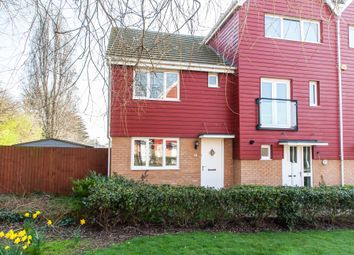 Thumbnail 3 bedroom end terrace house for sale in Hera Close, Southend-On-Sea