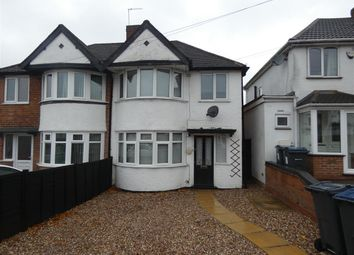 Thumbnail 3 bed semi-detached house to rent in Aldershaw Road, South Yardley, Birmingham